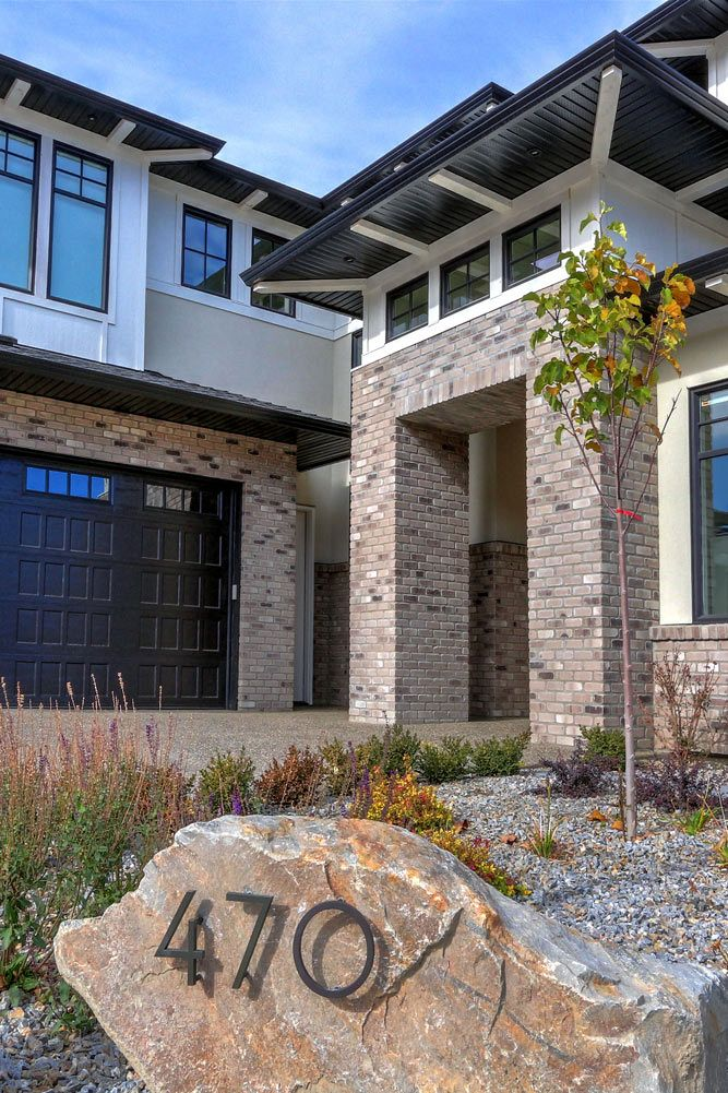470 Rockview Lane External view with landscaping